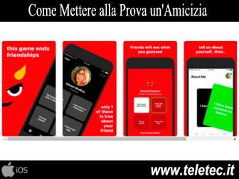 Come Fare Finire un'Amicizia - Lies App per iOS
