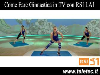 Come Fare Ginnastica e Yoga in TV con RSI LA1