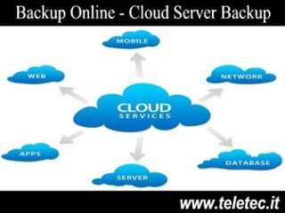 Come Fare i Backup Online - Il Cloud Server Backup