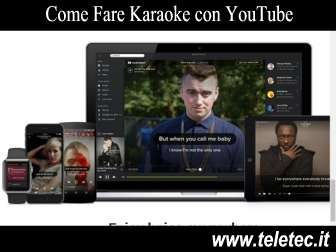 Come Fare Karaoke con YouTube