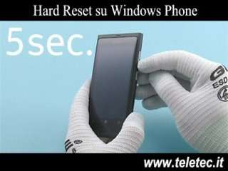 Come Fare l'Hard Reset su Windows Phone