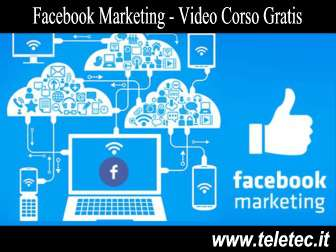 Come fare marketing con facebook  video corso gratis