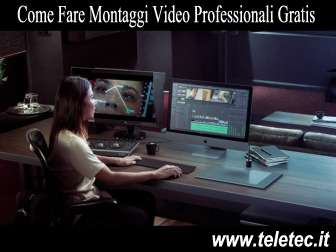 Come Fare Montaggi Video Professionali e Gratis - DaVinci
