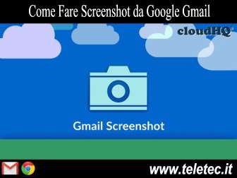 Come Fare Screenshot da Google Gmail