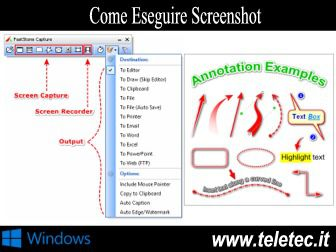Come Fare Screenshot e Registrare lo Schermo del PC su Windows - FastStone Capture