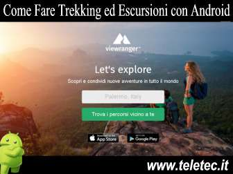 Come Fare Trekking ed Escursioni con Android - ViewRanger