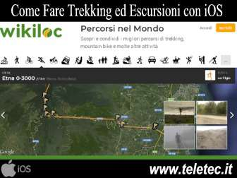 Come Fare Trekking ed Escursioni con iPhone - Wikiloc