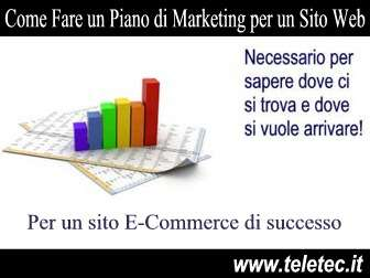 Come Fare un Piano di Marketing per un Sito Web Ecommerce