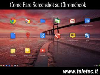 Come Fare un Screenshot con il Chromebook