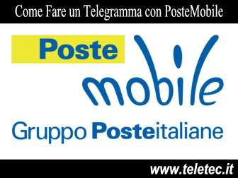 Come Fare un Telegramma con PosteMobile