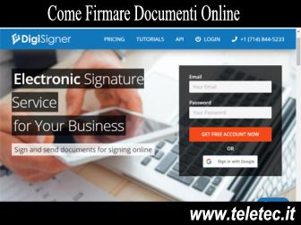 Come Firmare un Documento con la Firma Digitale