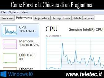 Come Forzare la Chiusura di un Programma su Windows 10