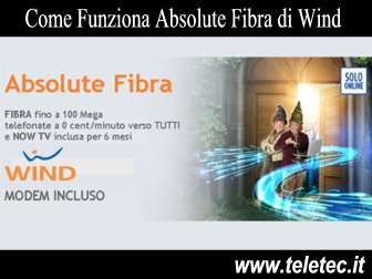 Come Funziona Absolute Fibra di Wind