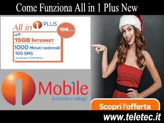 Come funziona all in 1 plus new di 1mobile  natale 2018