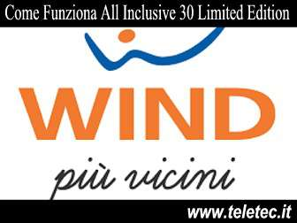 Come funziona all inclusive 30 limited edition  natale 2018