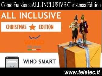 Come Funziona ALL INCLUSIVE Christmas Edition di Wind