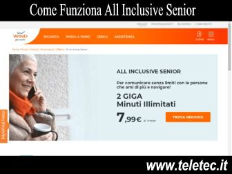 Come Funziona All Inclusive Senior di Wind con 2 GB e Minuti Illimitati a 9,99 per gli Over 60 - Ottobre 2020