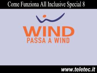 Come funziona all inclusive special 8  30 gb a 8 euro