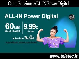 Come funziona allin power di tre  novembre 2018