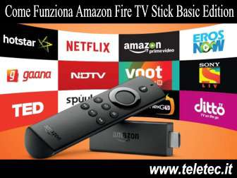 Come Funziona Amazon Fire TV Stick Basic Edition