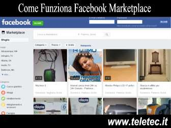 Come funziona facebook marketplace