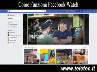 Come funziona facebook watch