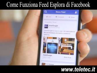 Come Funziona Feed Esplora di Facebook