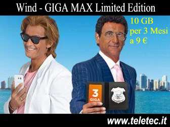 Come Funziona GIGA MAX Limited Edition - 10 GB per 3 mesi a 9 Euro