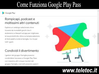 Come Funziona Google Play Pass