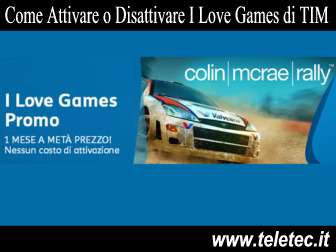 Come Funziona 'I Love Games Promo' di TIM