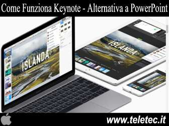 Come Funziona Keynote - Alternativa a PowerPoint per Mac