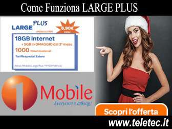 Come funziona large plus limited edition di 1mobile  natale 2018