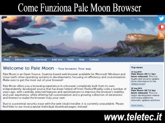 Come Funziona Pale Moon Browser per Navigare Veloci su Internet
