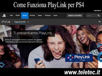 Come funziona playlink per ps4