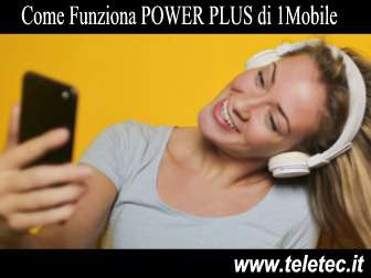 Come Funziona POWER PLUS di 1Mobile con 1000 Minuti e 28 Giga - Agosto 2019