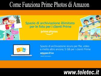 Come Funziona Prime Photos di Amazon