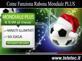 Come Funziona Rabona Mondiale PLUS - 50 GB e Minuti Illimitati
