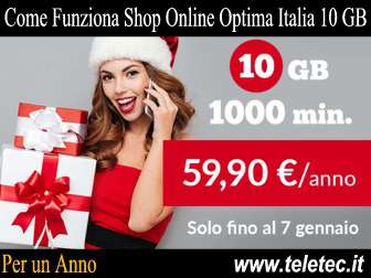 Come funziona shop online optima mobile 10 gb