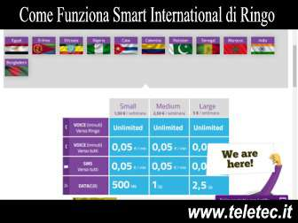 Come Funziona Smart International di Ringo Mobile
