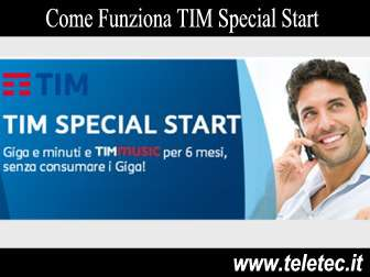 Come Funziona TIM Special Start