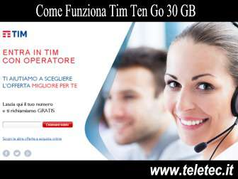 Come Funziona Tim Ten Go 30 GB