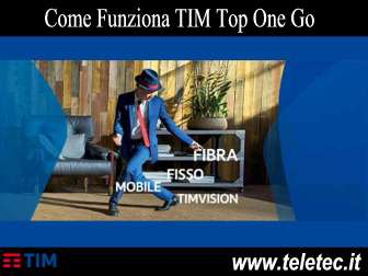 Come Funziona TIM Top One Go