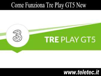 Come Funziona Tre Play GT5 New