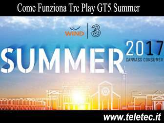 Come funziona tre play gt5 summer