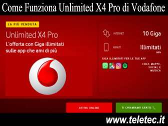 Come Funziona Unlimited X4 Pro di Vodafone con 10 GB in 5G e Minuti Illimitati a 14,99 - Settembre 2019