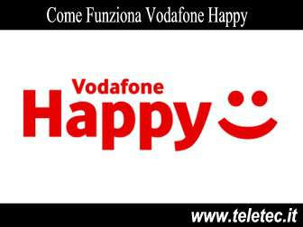 Come Funziona Vodafone Happy