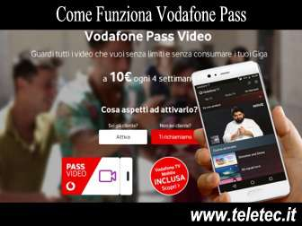 Come Funziona Vodafone Pass - Video, Musica, Social e Chat