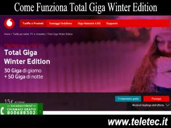 Come funziona vodafone total giga winter edition  natale 2018