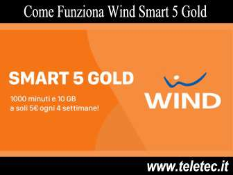 Come funziona wind smart 5 gold
