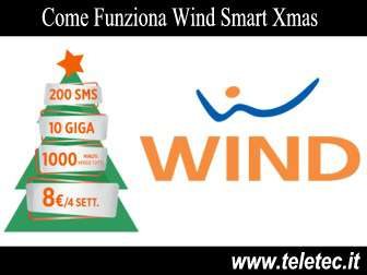 Come Funziona Wind Smart Xmas Limited Edition - 10GB in LTE